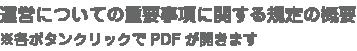 運営についての重要事項に関する規定の概要※各ボタンクリックでPDFが開きます